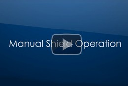 Roll-A-Shield Manual Shield Operation