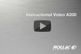 Instatllation Video - Rolling Shutter installed on a pre built structure