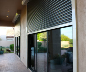 Shutters on Patio Doors