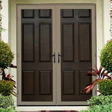 Double Door Security Doors